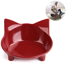 Hot Sell Cute Pet Supplies Candy Color Plastic Dog Bowl Feeding Water Food Puppy Feeder Cat Bowls