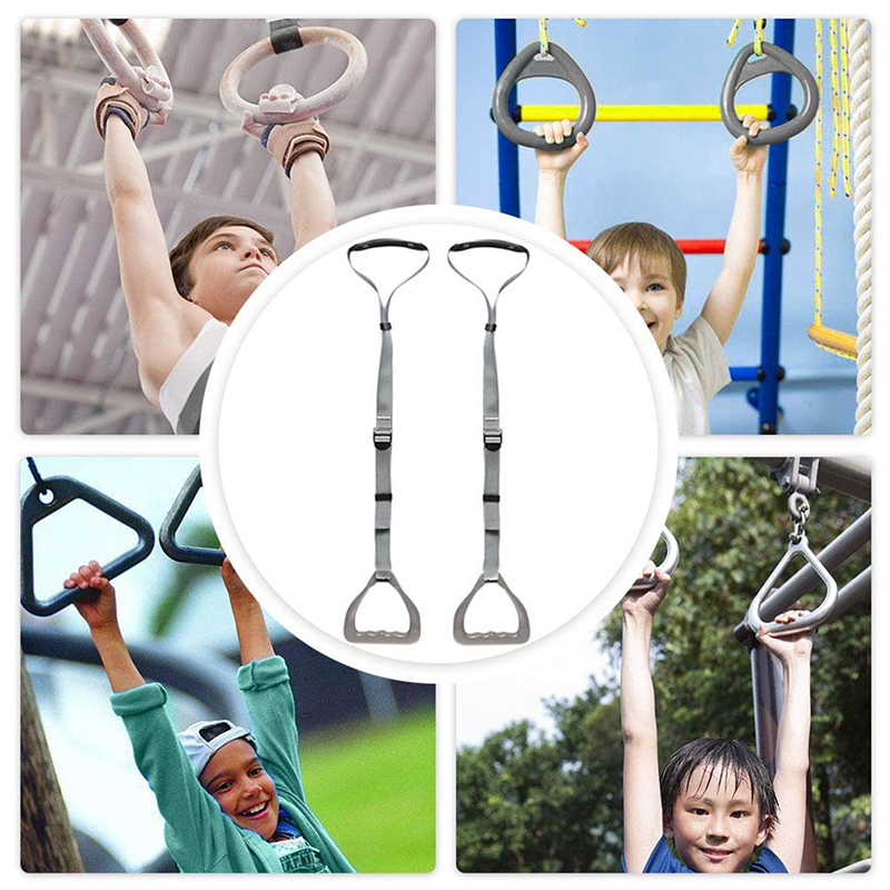 Kids Children's Fitness Rings Accessories Toys Hand Rings Climbing Swing Seat Toy Outdoor Gift Sports Children Supplies