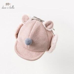 Image 1 - DB11825 dave bella casquette pour bébés filles