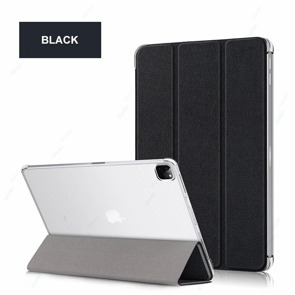 Black Black GZERMA Case For iPad Pro 12 9 2020 Smart Case Auto Wake Sleep Folio Cover For