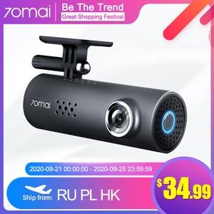 70mai Dash Cam 1S APP English Voice Control Car DVR Camera Wifi 1080P HD Night Vision G-sensor 70 Mai 1S Dashcam Video Recorder(China)