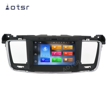 AOTSR 2 Din Car Radio Android 10 For Peugeot 508 2011 - 2017 Multimedia Player Auto Stereo GPS Navigation DSP IPS AutoRadio image