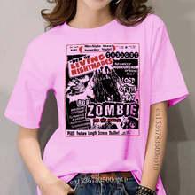 ROB ZOMBIE WOHNZIMMER NIGHTMARES frauen WEIß T SHIRT SCHOCK ROCK INDUSTRIELLE METALL Kurzen Ärmeln Baumwolle T Shirt