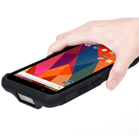 RT Q62 6 Inch Touch Screen Rugged Tablet Smartphone Mobile Android Handheld PDA 1D Laser 2D Barcode Scanner With SDK