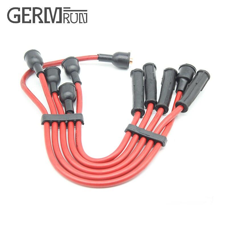 Juego de cables de bujía de encendido para Peugeot