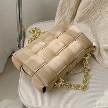 Zapatos de cuero nobuck tejido bolso para dama nuevo cuero de la PU de las mujeres diseñador bolso de bandolera de hombro Mujer