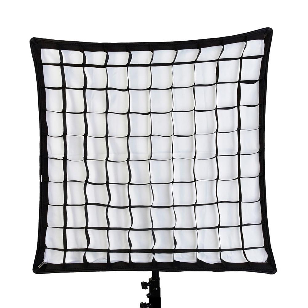 80X80/70X70cm Square Honeycomb Grid Flash Light Softbox Shoot Photography Mesh Net for Studio Strobe Flash Light