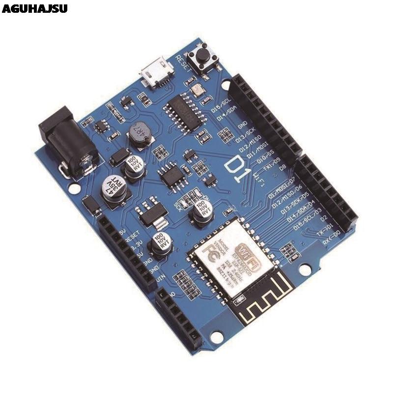 Умная электроника ESP-12F WeMos D1 WiFi uno на основе ESP8266 щит для arduino совместимый с IDE