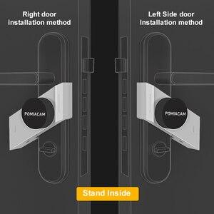 Image 3 - Silver/Black Sherlock S3 Smart Stick Lock Electronic Door Lock Bluetooth Wireless Eletronic Door Lock Smart Phone App Control