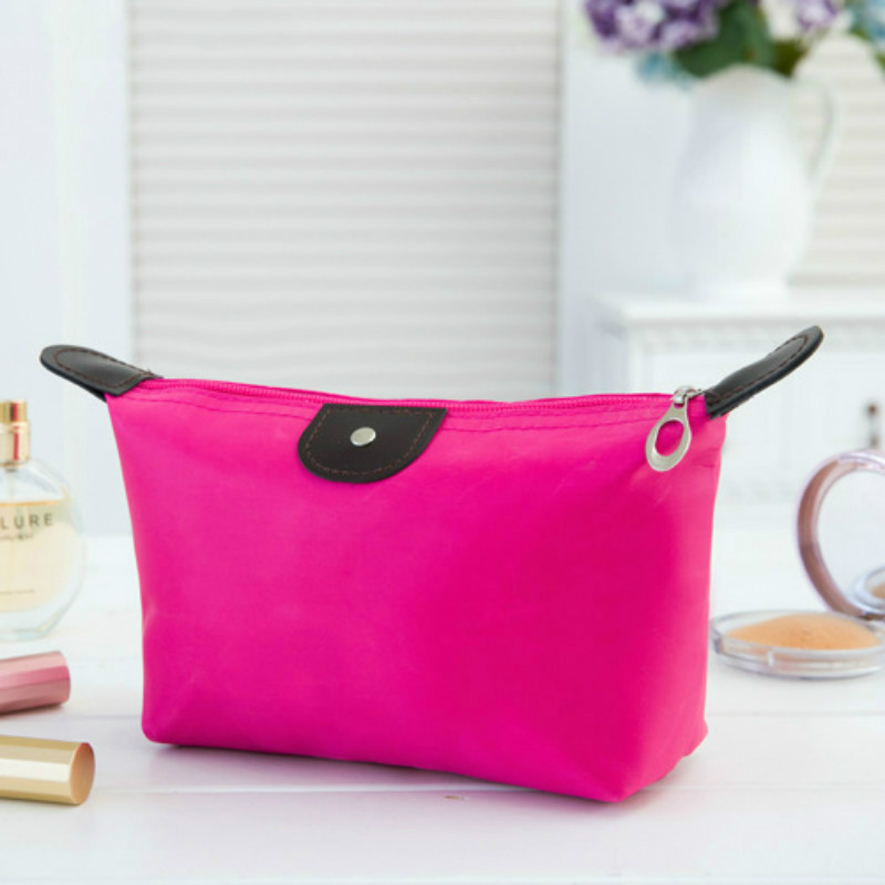 2020 New Travel Zipper Waterproof Cosmetic Bag Makeup Pouch Toiletry Wash Organizer Case Gift High Quality Free Shipping