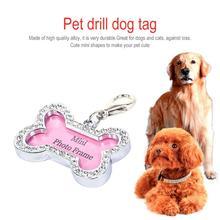 Сделай сам, собака, щенок, анти-потеря, карта, персональная форма кости, домашние животные, ID, имя, бирка, адрес, подвеска, собака, щенок, аксессуары для ошейника питомца