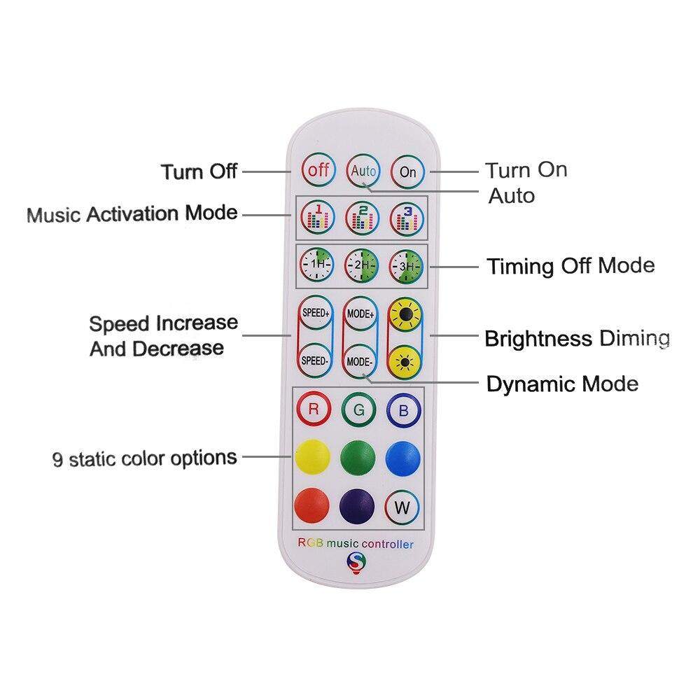 rgb cheio-cor dupla saída led strip controlador