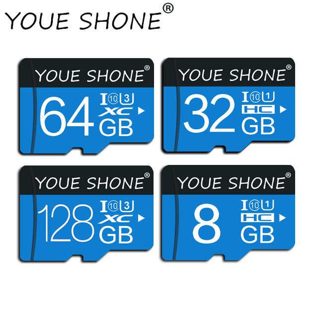 Высококачественная Гарантированная карта памяти 16 ГБ 32 ГБ 64 Гб 128 Гб Micro SD карта класса 10 Флэш-карта мини SD карта TF карта с sd-адаптером