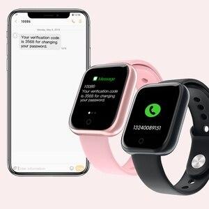 696 T80 Smart Watch Heart Rate Monitor Blood Pressure smartwatch men Fitness tracker IP67 Waterproof Sport Smart Bracelet Women