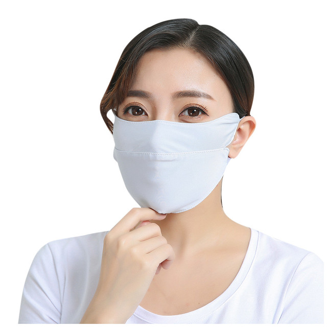 Adult Cotton PM2.5 Mouth Mask Cute Solid Anti Haze Dust Mask Windproof Face Flu Washable Fabric Cloth Respirator @A30 2