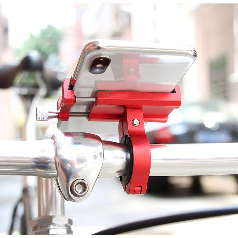 GUB P10 G-81 Aluminum Alloy Bicycle Mobile Phone Holder Enhanced Four-claw Design Phone Stand for Bike Electric Bike Motorcycle image