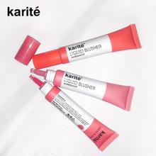 Karite  4 Colors Liquid Blush Face Makeup Mineral Pigment Blusher Blush Cosmestics Professional Palette Blush Contour Shadow|Blush|   - AliExpress