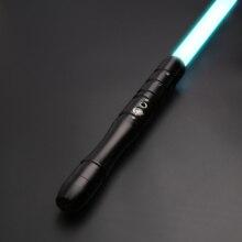 TXQSABER Hot Selling Lightsaber Baselit RGB Metal Handle For Heavy Dueling Colors Lock Up Flash On Clash-OT001Black