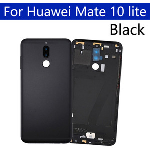 Image 4 - Battery Back Cover For Huawei Mate 10 lite Back Battery Door Rear Housing Cover Case For Huawei Nova 2i Chassis Shell