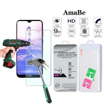 Перейти на Алиэкспресс и купить Закаленное стекло Для Doogee X90/X90L/Doogee Y8/Y8C защита экрана