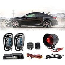 Alarme de voiture modifiée avec démarrage automatique, verrouillage Central de la télécommande, activation automatique, surveillance en temps réel, entrée sans clé