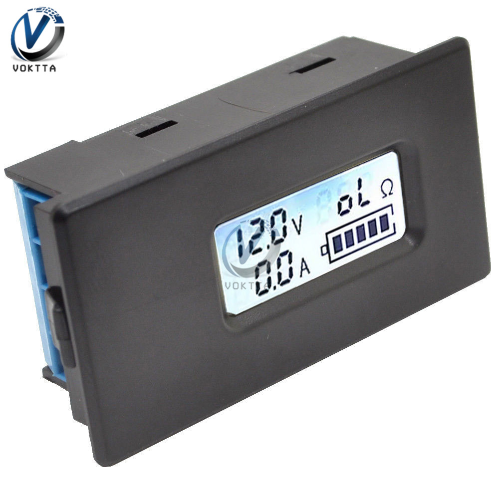 Image 5 - 18650 Lithium Battery Capacity Indicator Tester LCD Digital  Display ZB2L3 Battery Tester LED Power Supply Test Ammeter  VoltmeterBattery Testers   -