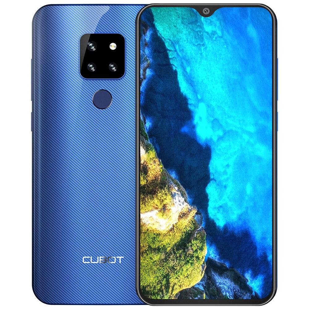 6.3 Inch CUBOT P30 4G 2340 X 1080 IPS Phablet Android 9.0 Helio P23 Octa Core 4GB RAM 64GB ROM 20.0MP Rear Camera 4000mAh Phone