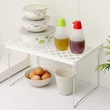 Simple Household Kitchen Storage Rack Bathroom Foldable For Kitchenware Toiletries kitchen Dish Drainer H1 .x x
