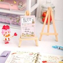 Pulpit drewniany uchwyt na iPad telefon komórkowy Tablet PC uchwyt na stojak uchwyt na książki Mini malowanie rysunek sztalugi rama wyświetlacz półka