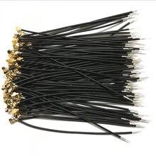 100 шт Черный IPX IPEX u. fl женский с одной головкой разъема 1,13 Кабель 5 Высота каблука 10 см, каблук 15 см, 20 см, 25 см, 30 см IPX 1,13 мм RG1.13 кабель