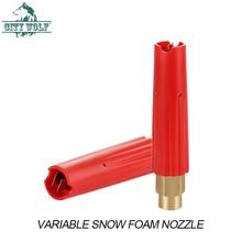 City wolf car wash shop self serivce super high pressure variable fan shaped snow foam nozzle car claning accessories