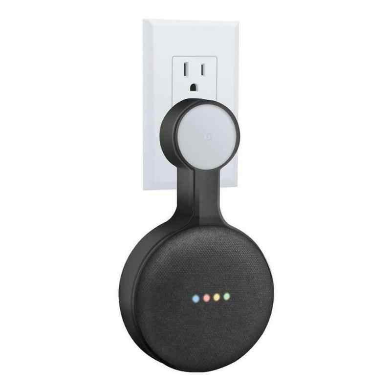Voor Google Thuis Mini Voice Assistent Outlet Wall Mount Hanger Stand Home Keuken Badkamer Slaapkamer Speaker Houder