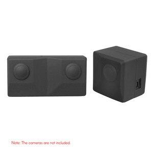 Image 4 - Silicone Mềm Mại Bảo Vệ Giá Đỡ Bảo Vệ Vỏ Túi Du Lịch Cho Insta360 EVO VR Gấp Phụ Kiện Chống Sốc
