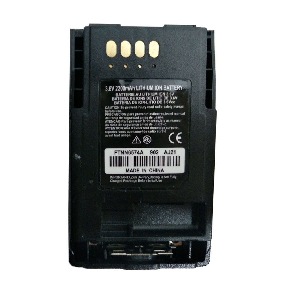 PMNN4351B FTN6574A FTN6574B 3.7V Li-Ion Extended Battery 2200mAh For MTP850 MTP850S MTP800 MTP830S CEP400 MTP850FUG TETRA Radio