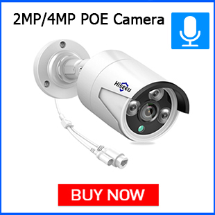 Hiseeu 4MP POE IP Camera
