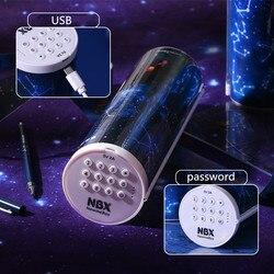 Pasir Hisap Pensil Newmebox Estojo Escolar Elektronik Password Estuche Escolar Kawaii Estuche Putaran Kotak Pensil Kotak Pensil