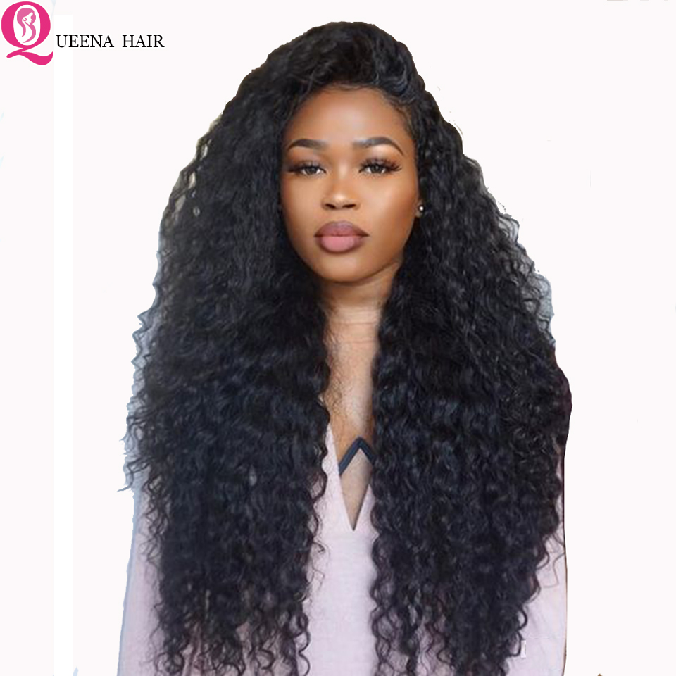13x6 Water Wave Lace Front Wig Remy Peruvian Transparent Lace Frontal Human Hair Wigs Pre Plucked Bleached Knots Front Lace Wig
