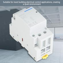 2P 40A 250V AC 50/60HZ Din rail Low Power Consumption Household  Modular Contactor 2NO цена 2017