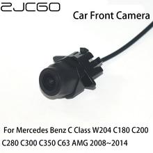 цена на ZJCGO CCD HD Car Front View Parking LOGO Camera Positive Image for Mercedes Benz C Class W204 C180 C200 C280 C300 C350 C63 AMG