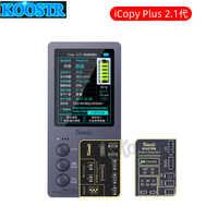 Qianli iCopy Plus 2,1 Original para la pantalla LCD Color de reparación de programador para iPhone XSMAX XS 8P 8 7P 7 Turetone batería herramienta de recuperación