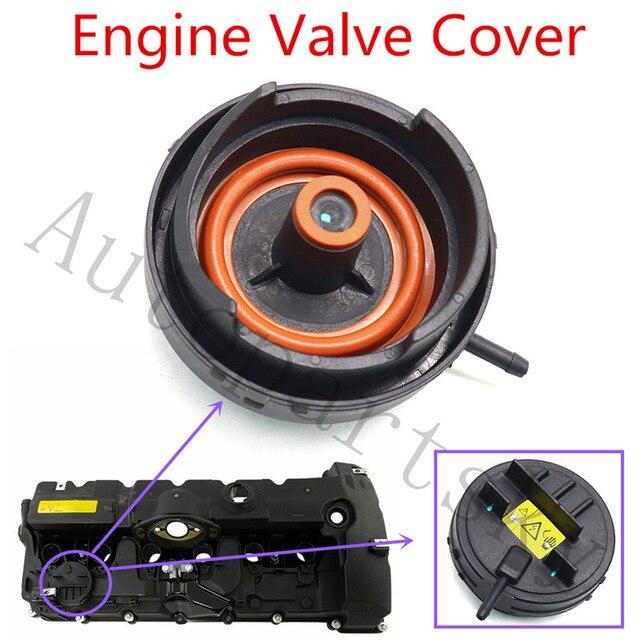 X AUTOHAUX Engine Valve Cover for BMW E82 E90 E70 Z4 X3 X5 128i 328i 528i 11127552281