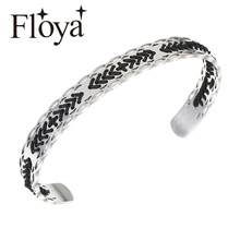 Floya Arrows Cuff Bangles weave Ethnic style womens Direction Rope Charm Bracelets Original Bracelet wholesale