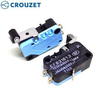 Oryginalny Crouzet mikro przełącznik EF83161 3 nowy i oryginalny tanie i dobre opinie crouzet micro switch Z tworzywa sztucznego ROHS Przełączniki 60 days crouzet switch 83262 Mikroprzełącznik