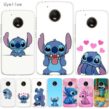 Uyellow Disneys Stitch Soft Cover For Motorola G4 G5 G5S G6 G7 E4 E5 Plus Play Phone Case Moto Power Silicone Coque Shell