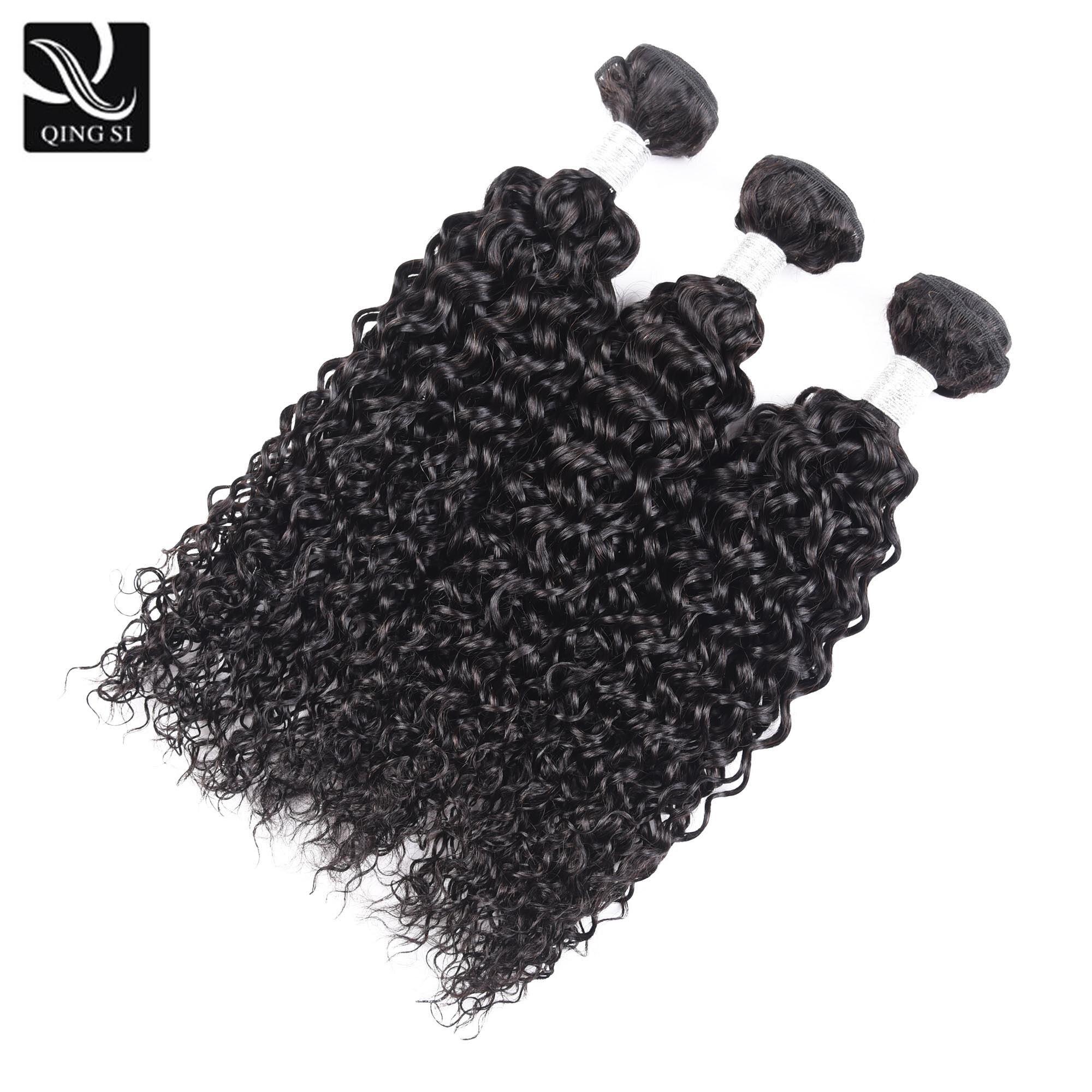Curly Human Hair Bundles Brazilian Hair Weave Bundles Deals 100% Remy Curly Bundles Afro Kinky Curly Hair Extension 3 Bundle