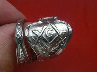 925 sterling silver silver spoon live ring free shipping