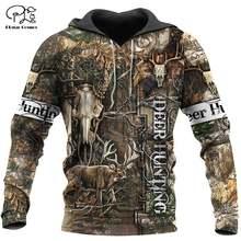 Камуфляжный пуловер plstar cosmos с бантом оленем охотничьими