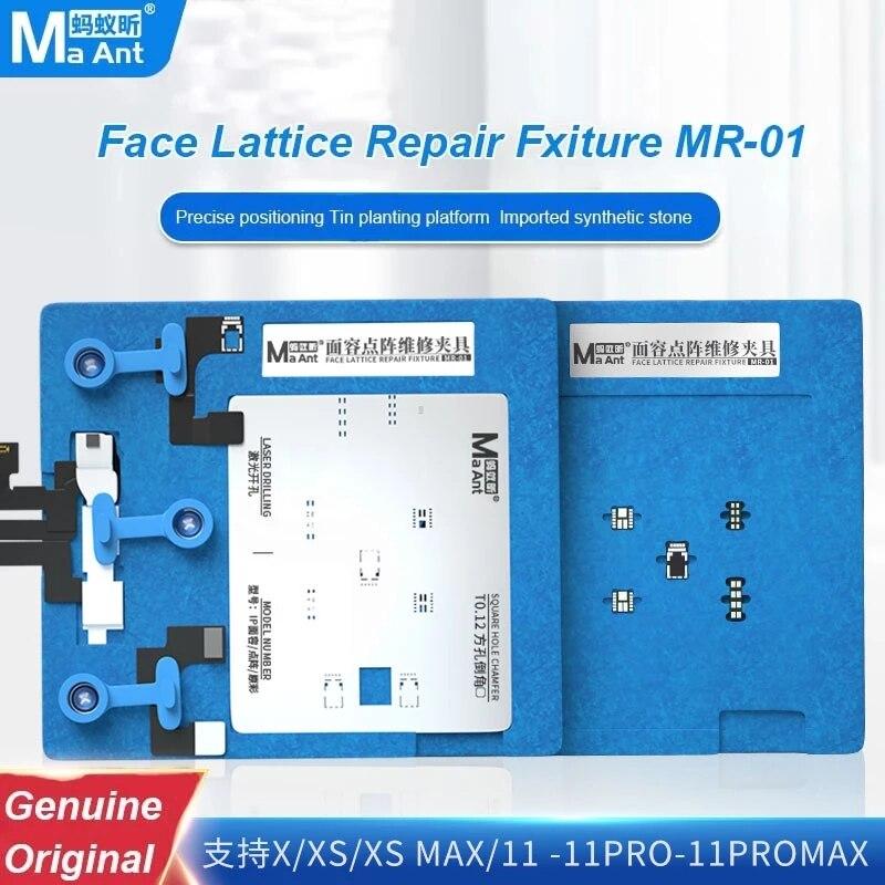 MaAnt Face ID/истинный цвет Lattcle ремонтный прибор оловянный шаблон для iPhone X/XS MAX/XR/11/11Pro MAX BGA реболлинговый трафарет Platfrom