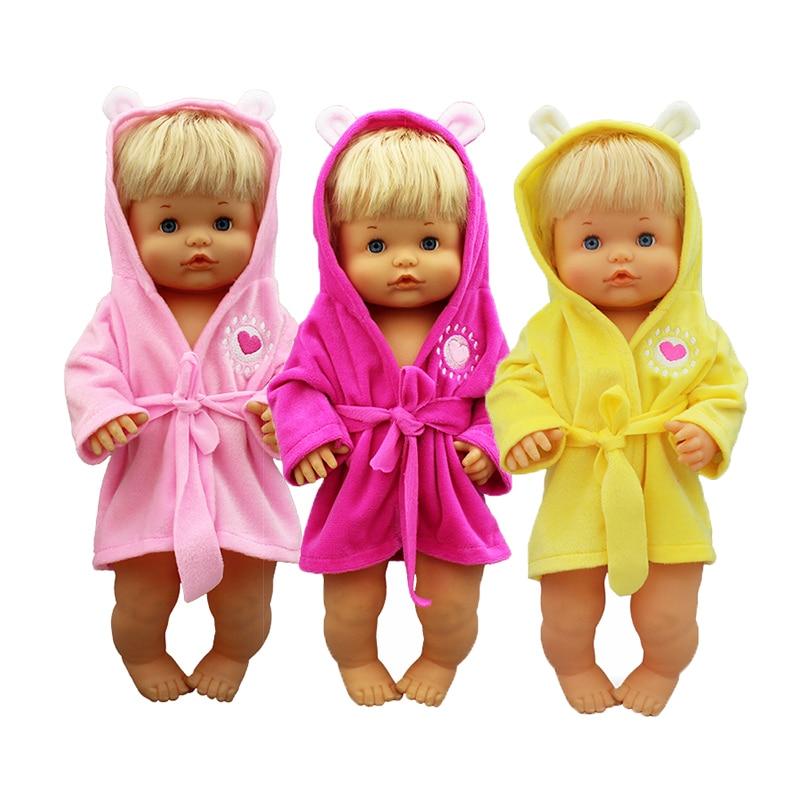 2019 New  Bathrobe  Doll Clothes Fit 42cm Nenuco Doll Nenuco Su Hermanita Doll Accessories