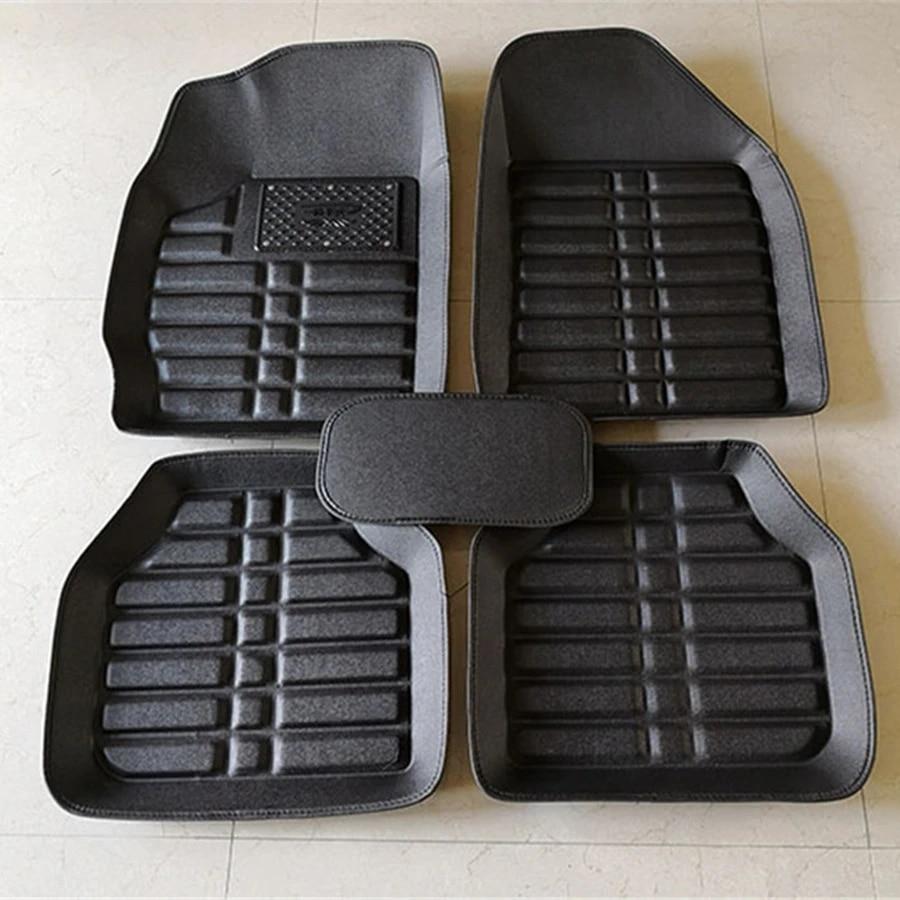 Black Heavy Duty Rubber Floor Mats For